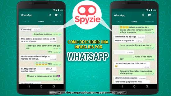 Como Descubrir Infidelidades Por Whatsapp Spyzie Apk