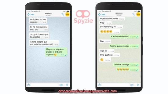 leer los mensajes de un celular por internet Spyzie