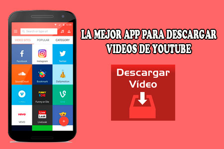 app para descargar videos de youtube android